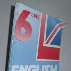 Libros de segunda mano: ENGLISH WORKBOOK 6º E.G.B. (EDELVIVES, 1991). Lote 52945132