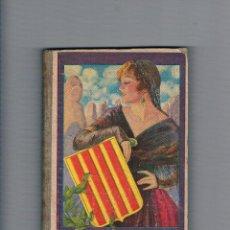 Libros de segunda mano: LA TERRA CATALANA JOAQUIM PLA CARGOL 1937 GIRONA LIBRO DE TEXTO ANTIGUO. Lote 53018753