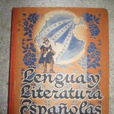 Livres d'occasion: LENGUA Y LITERATURA ESPAÑOLAS. TERCER CURSO. EDITORIAL LUIS VIVES. Lote 53314233