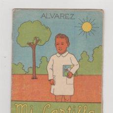 Libros de segunda mano: MI CARTILLA. CUARTA PARTE. ALVÁREZ. 1ª EDICIÓN. EDITORIAL MIÑÓN - VALLADOLID 1957. RARA.. Lote 53482618