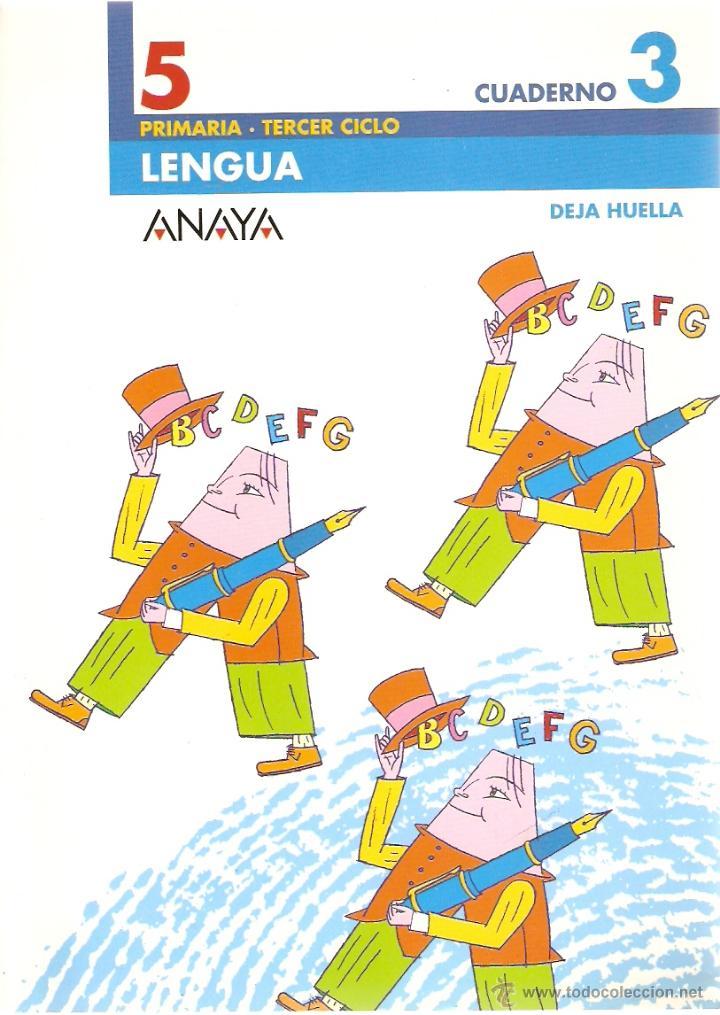 cuaderno 3 de lengua 5º primaria anaya proyecto - Kaufen Lehrbücher ...