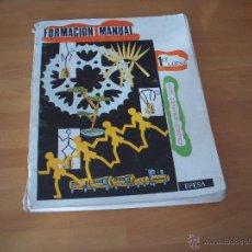 Libros de segunda mano: FORMACIÓN MANUAL 1ER CURSO. Lote 53565242