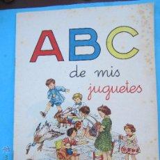 Libros de segunda mano: ABC DE MIS JUGUETES, IMPRENTA ELZEVIRIANA , LIBREIA CAMI. Lote 53678471