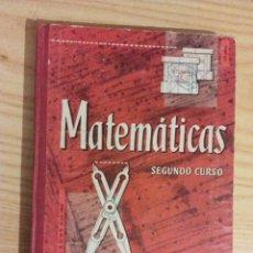 Libros de segunda mano: LIBRO DE MATEMÁTICAS, SEGUNDO GRADO AÑO 1965. EDELVIVES. Lote 53748895