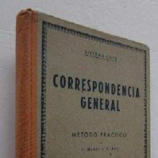 Libros de segunda mano: CORRESPONDENCIA GENERAL - SISTEMA COTS. Lote 54025770