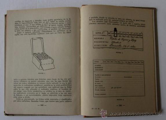 Libros de segunda mano: CORRESPONDENCIA GENERAL - SISTEMA COTS - Foto 5 - 54025770