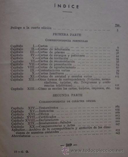 Libros de segunda mano: CORRESPONDENCIA GENERAL - SISTEMA COTS - Foto 6 - 54025770