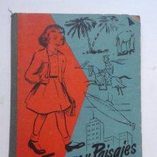 Libros de segunda mano: FIGURAS Y PAISAJES. JOSÉ Mª VILLERGAS. SEGUNDO LIBRO DE LECTURA.. Lote 54322554