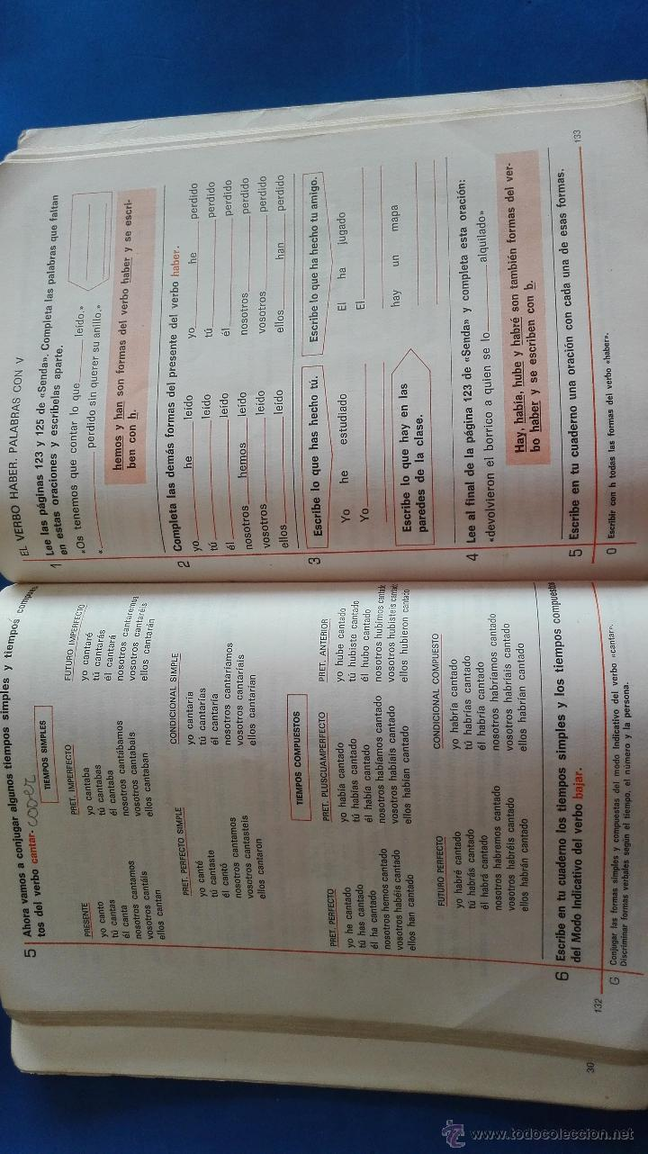 Libros de segunda mano: LIBRO - LENGUAJE 3º EGB - SANTILLANA - Foto 4 - 54392634