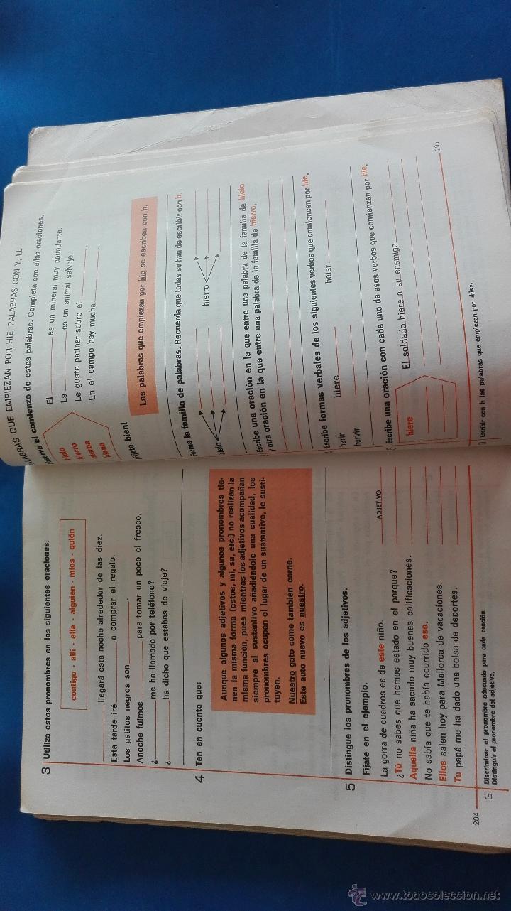 Libros de segunda mano: LIBRO - LENGUAJE 3º EGB - SANTILLANA - Foto 7 - 54392634