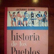 Libros de segunda mano: COLLS CARRERAS, J. HISTORIA DE LOS PUEBLOS : LIBRO DE LECTURAS : GRADO DE PERFECCIONAMIENTO. Lote 54408251