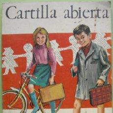 Libros de segunda mano: CARTILLA ABIERTA. ANAYA. 1968 --- (REF M2 E3). Lote 54496330