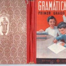 Libros de segunda mano: EDELVIVES GRAMÁTICA PRIMER GRADO 1951. Lote 54515064