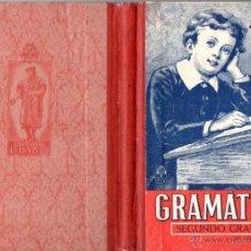 Libros de segunda mano: EDELVIVES GRAMÁTICA SEGUNDO GRADO 1942. Lote 54515100