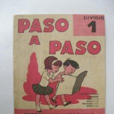 Libros de segunda mano: PASO A PASO Nº 1 SALVATELLA AÑO 1969. Lote 54666390