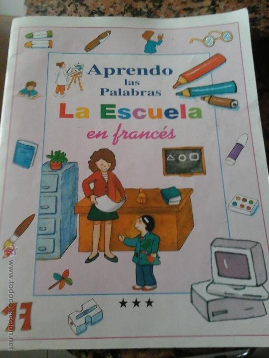 LIBRO FRANCES INFANTIL (Libros de Segunda Mano - Libros de Texto )