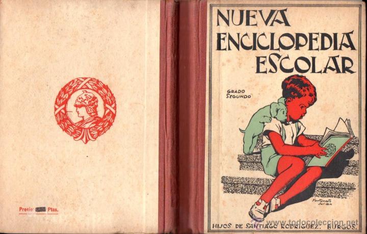 NUEVA ENCICLOPEDIA ESCOLAR GRADO SEGUNDO (HIJOS DE SANTIAGO RODRÍGUEZ, BURGOS 1943) (Libros de Segunda Mano - Libros de Texto )
