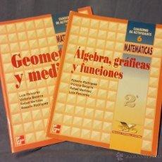Second hand books - Matemáticas - Cuadernos de Actividades - 1997 - McGraw Hill - Geometria, Funciones, Álgebra, Medidas - 54889413