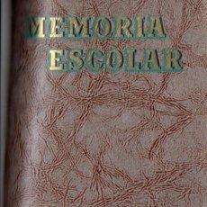 Libros de segunda mano: MEMORIA ESCOLAR LA SALLE BONANOVA 1951-1952 Y 1952-53. Lote 55119949