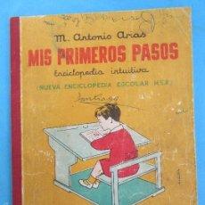 Libros de segunda mano: MIS PRIMEROS PASOS , NUEVA ENCICLOPEDIA ESCOLAR , INTUITIVA ,HIJOS DE SANTIAGO RODRIGUEZ 1958. Lote 55456111