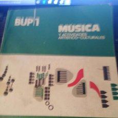 Gebrauchte Bücher - Primero de BUP música y actividades artístico culturales - 55714854