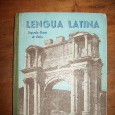 Libros de segunda mano: GARCÍA PASTOR, JESÚS. LENGUA LATINA. SEGUNDO CURSO. Lote 55900725