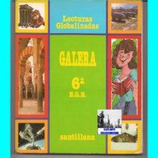 Libros de segunda mano: GALERA 6 º SEXTO EGB E.G.B. - LECTURAS GLOBALIZADAS - SANTILLANA - 1988 - EXCELENTE ESTADO. Lote 55938668