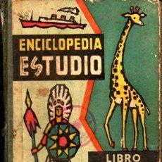 Libros de segunda mano: ENCICLOPEDIA ESTUDIO LIBRO VERDE (DALMAU CARLES, 1962). Lote 147953562