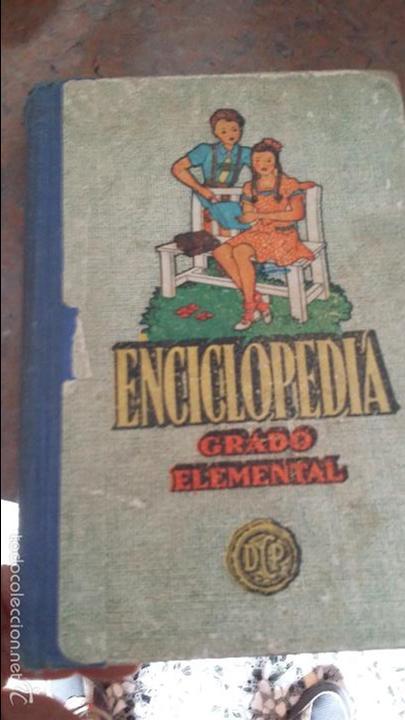 ENCICLOPEDIA -GRADO ELEMENTAL (Libros de Segunda Mano - Libros de Texto )