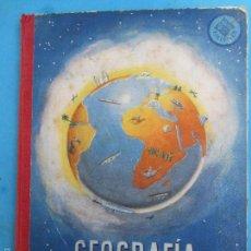 Libros de segunda mano: LIBRO ESCOLAR GEOGRAFIA , GRADO PREPARATORIO, EDITORIAL LUIS VIVES 1962. Lote 56207290