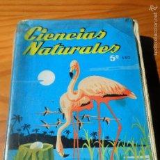 Libros de segunda mano: CIENCIAS NATURALES 5º AÑO BACHILLERATO. EDICIONES SM 1973. Lote 98741632