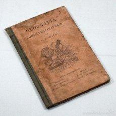 Libros de segunda mano: GEOGRAFIA CURSO PREPARATORIO BRUÑO 1921 62 PAGINAS ILUSTRADO. Lote 56308715
