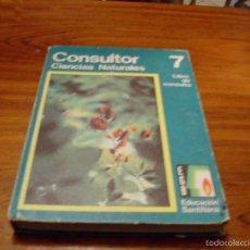 Libros de segunda mano: CONSULTOR DE CIENCIAS NATURALES.1973. Lote 56316755