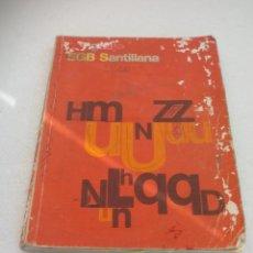 Libros de segunda mano: LENGUAJE 5, EDITORIAL SANTILLANA 5º DE EGB. LIBRO DE TEXTO, DE CONSULTA 1979. Lote 56334130