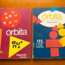 Libros de segunda mano: ORBITA LIBRO ACTIVO MATEMÁTICA MODERNA 1970 CUATRO CURSOS. Lote 56574186