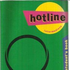 Libros de segunda mano: HOTLINE. TIME HUTCHINSON. OXFORD UNIVERSITY. OXFORD. 1993. Lote 56629875