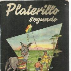 Libros de segunda mano: PLATERILLO SEGUNDO. FÉLIX SÁNCHEZ REVILLA. EDICIONES ANAYA. SALAMANCA. 1961. Lote 56688763