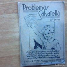 Libros de segunda mano: PROBLEMAS SAVATELLA. Lote 56901898