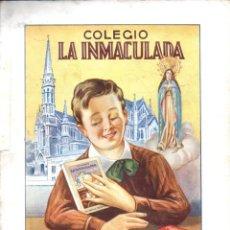 Libros de segunda mano: MEMORIA ESCOLAR LA INMACULADA HERMANOS MARISTAS BARCELONA 1948/49. Lote 57106709
