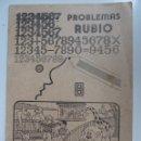 Libros de segunda mano: PROBLEMAS RUBIO. 8. Lote 57179070