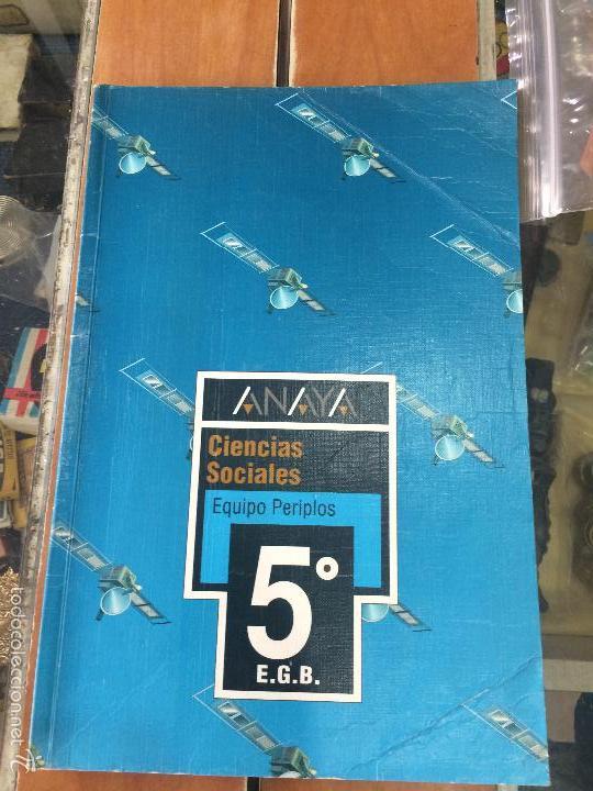 LIBRO DE TEXTO ANAYA 5 EGB CIENCIAS NATURALES - (Libros de Segunda Mano - Libros de Texto )