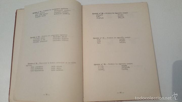 Libros de segunda mano: EJERCICIOS Y PROBLEMAS DE QUIMICA - 1949 - Foto 2 - 57542221