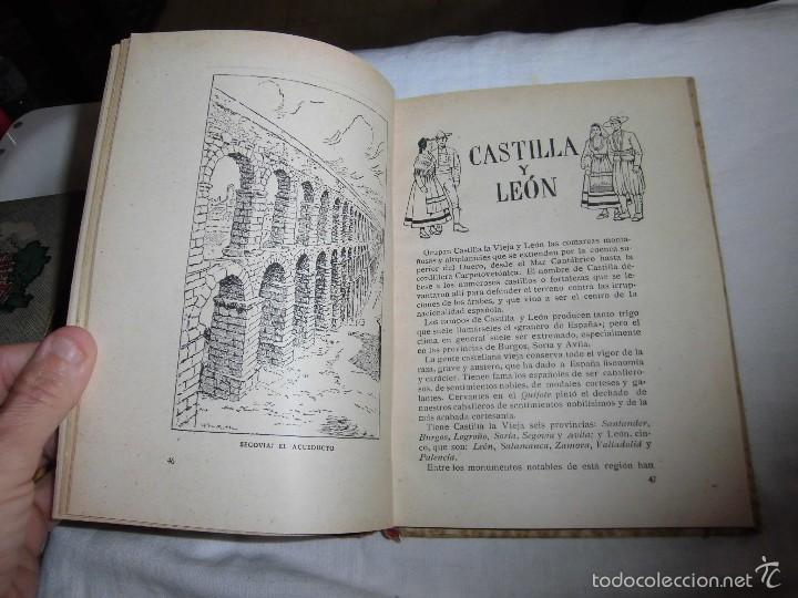 Libros de segunda mano: LA PATRIA ESPAÑOLA.EZEQUIEL SOLANA.ESCUELA ESPAÑOLA 1955 - Foto 7 - 57545548