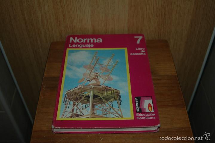 Libro de texto a os 70 de egb norma lenguaje comprar for Libro fuera de norma