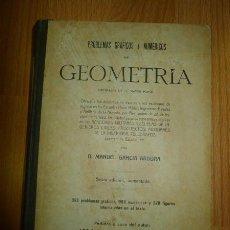 Libros de segunda mano: GARCÍA ARDURA, MANUEL. PROBLEMAS GRÁFICOS Y NUMÉRICOS DE GEOMETRÍA : ORIGINALES EN SU MAYOR PARTE. Lote 57788739