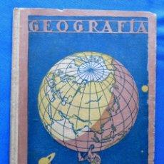 Libros de segunda mano: GEOGRAFÍA ATLAS. DR. RAFAEL BALLESTER. GRADO ELEMENTAL. DALMAU CARLES PLA EDITORES, 1941.. Lote 57883799