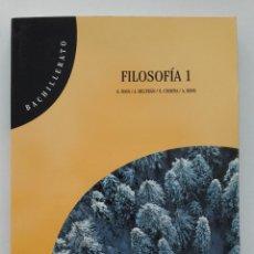 Libros de segunda mano: FILOSOFIA 1 - 1º BACHILLERATO - EDITORIAL TEIDE - 2002 - NUEVO. Lote 57916493