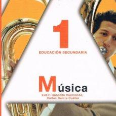 Libros de segunda mano: LIBRO DE TEXTO MÚSICA 1 EDUCACIÓN SECUNDARIA ANAYA. Lote 58012762