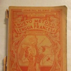 Libros de segunda mano: NUEVO METODO DE LENGUA FRANCESA - SEGUNDO CURSO - AÑO 1954 -REFM1E3. Lote 58065800