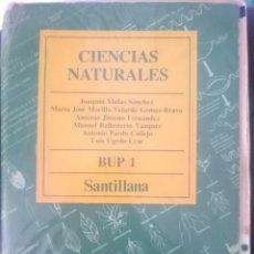 Libros de segunda mano: LIBRO TEXTO CIENCIAS NATURALES - B.U.P. - ED. SANTILLANA -REFM1E3. Lote 58066971
